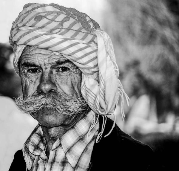 Market Worker, Kusadasi Turkey.