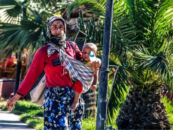 Mother & Child, Kusadasi, Turkey