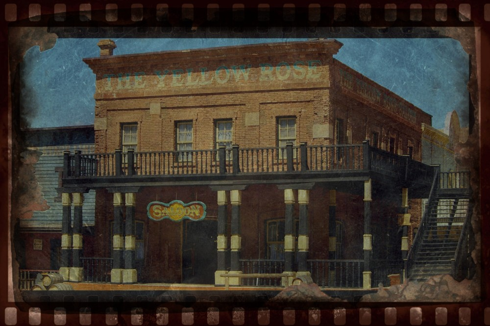 THE YELLOW ROSE SALOON