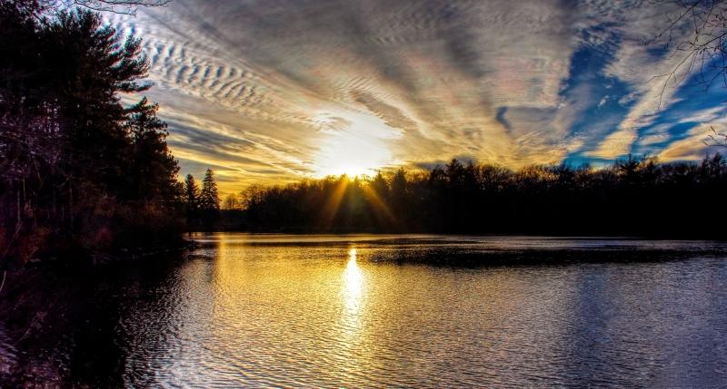 Sunset Brockton, Massachusetts