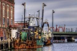 New Bedford, Massachusetts,  Fishing Port.