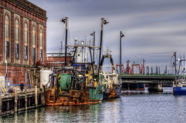 New Bedford, Massachusetts,  Fishing Port.