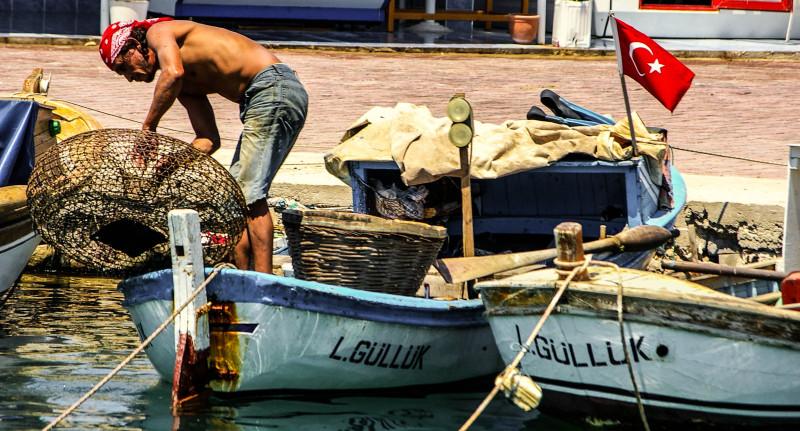 Fisherman, Izmir Turkey.