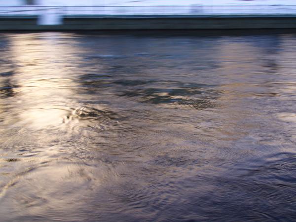 followed water