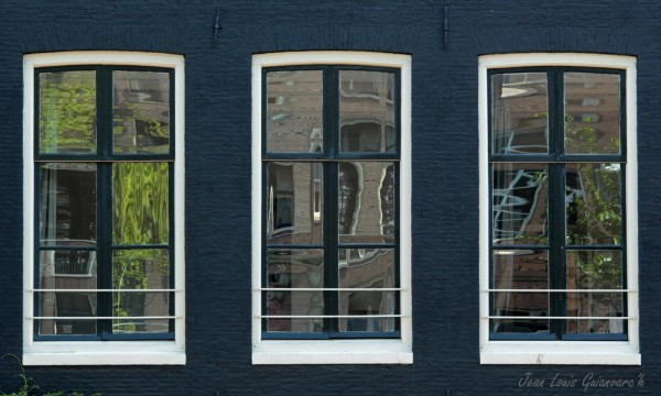 Fenêtres d'Amsterdam (4) / Windows of Amsterdam