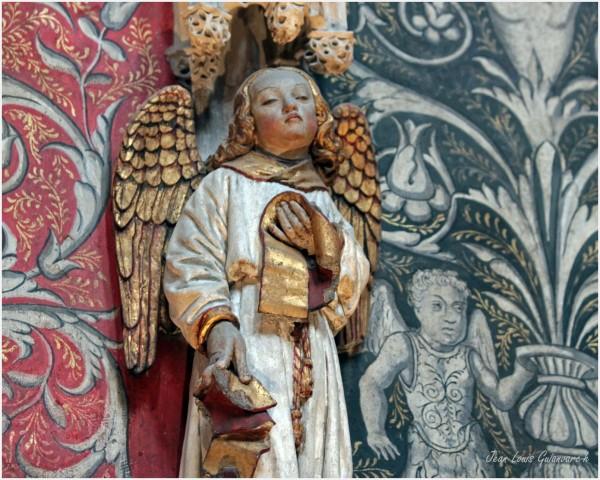 Un Ange du Chœur. / An Angel Choir.