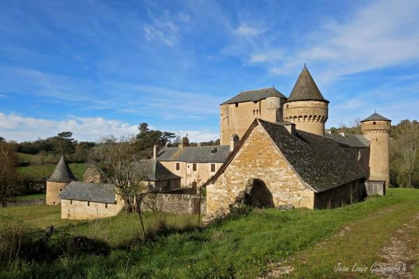 Une grange monastique. / A monastic grange.
