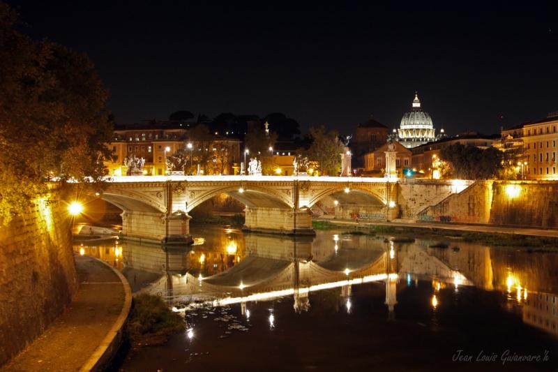 La nuit romaine. /  Roman night.