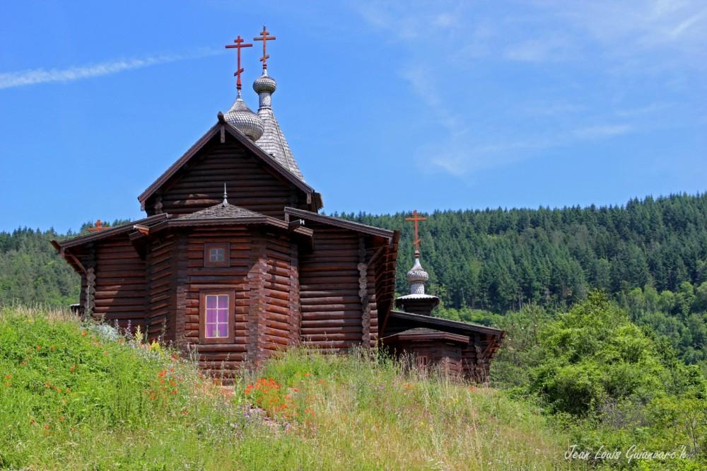 L'église russe.