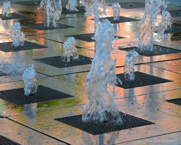 La danse de l'eau.