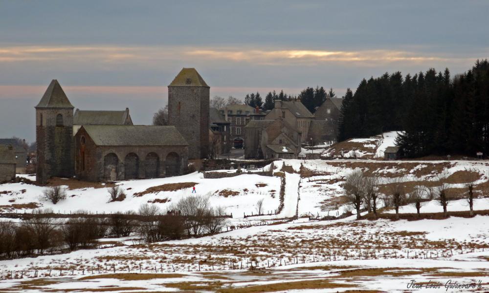 Le village d'Aubrac