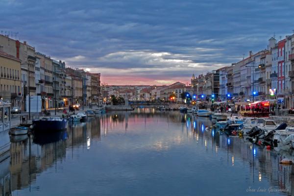 L'heure bleue à Sète