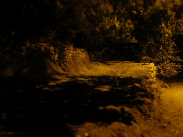 a light night