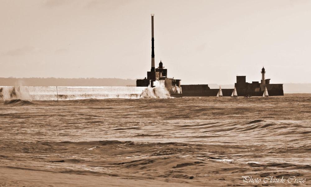 Le Havre en Sépia