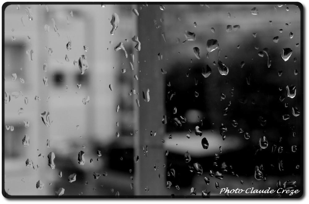 La pluie sur mes carreaux