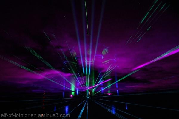 Hermann laser show