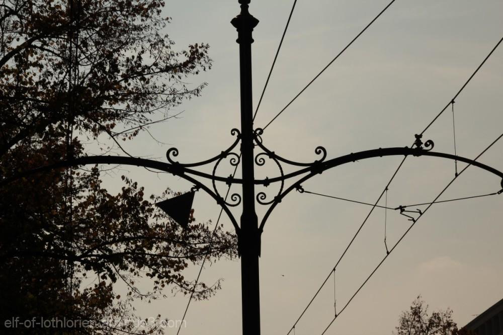 Italian style tram wires