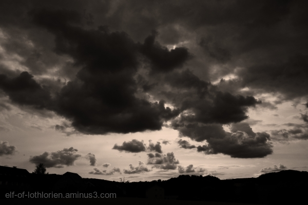 Clouds in B/W I