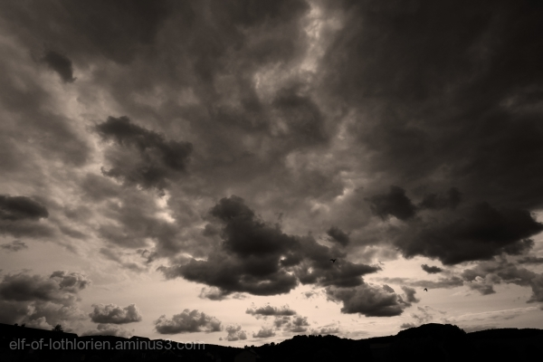 Clouds in B/W II