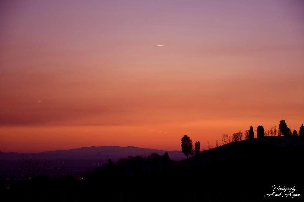 after sun ...