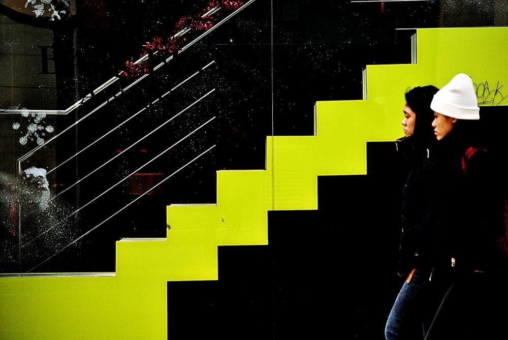 Caminant per la Diagonal