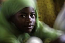 Portrait d'une jeune fille de Funzi   Young girl