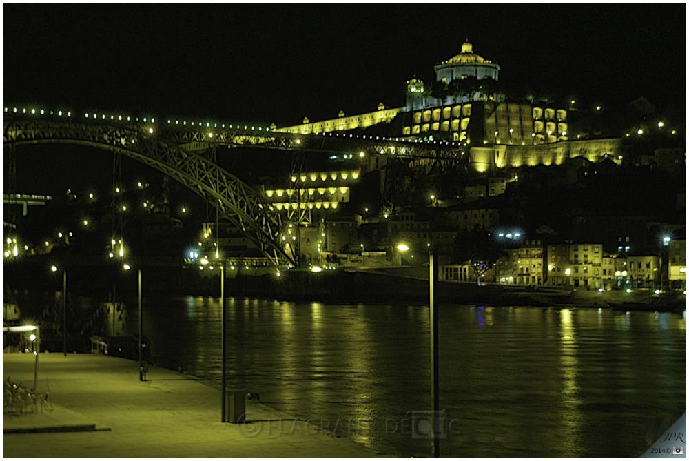Le pont Luis 1 et le Monastère de Serra do Pilar