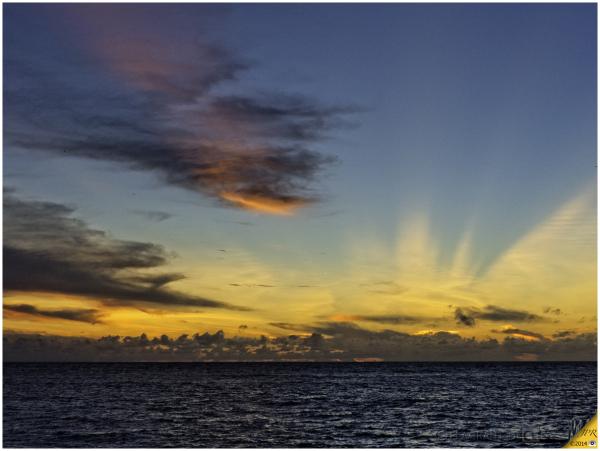 Sunset à Bird Island