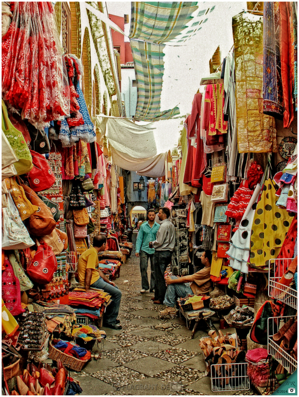Le souk de Grenade - The souk of Granada
