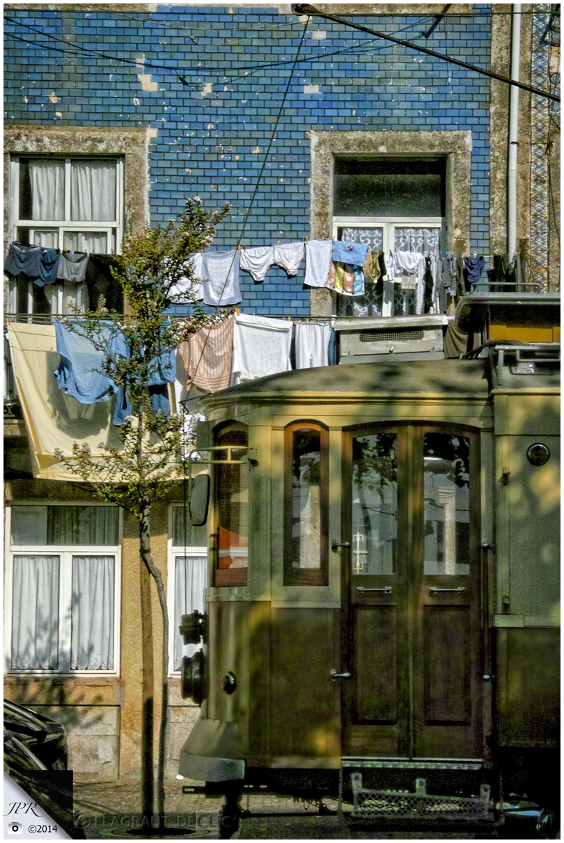 Vue sur une rue de Porto - Street view from Porto