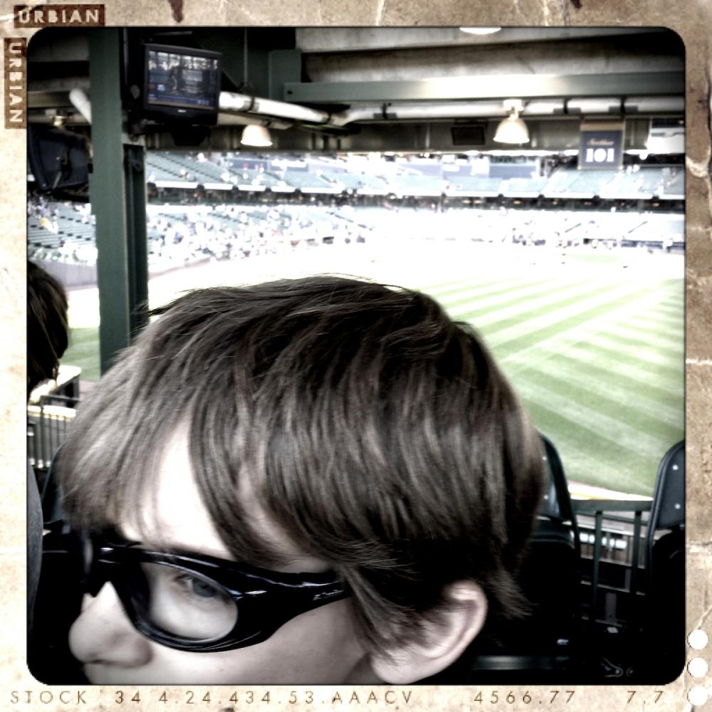 waiting at the ballpark