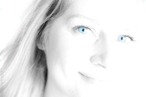 Color selected portrait