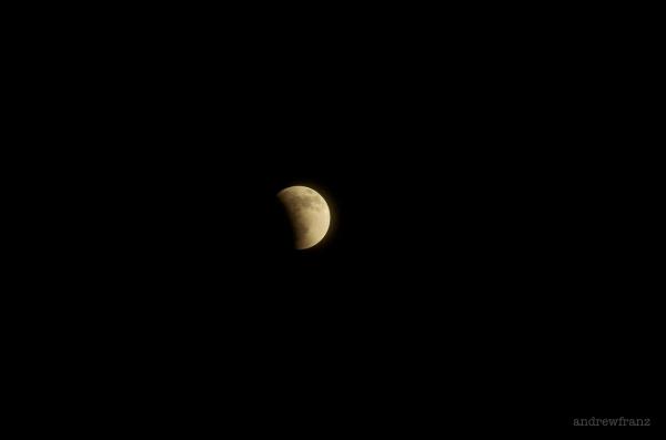 Lunar eclipse blood moon April 2014
