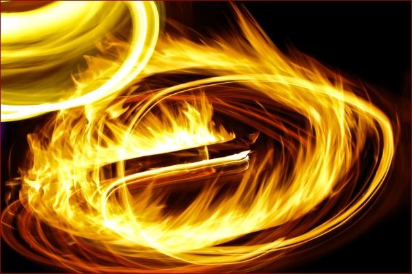 feu flamme chaleur dynamique