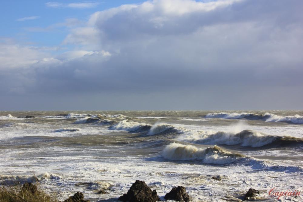 tempête sur le Pouliguen
