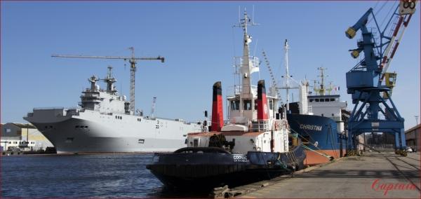 Bateaux à quai série portuaire
