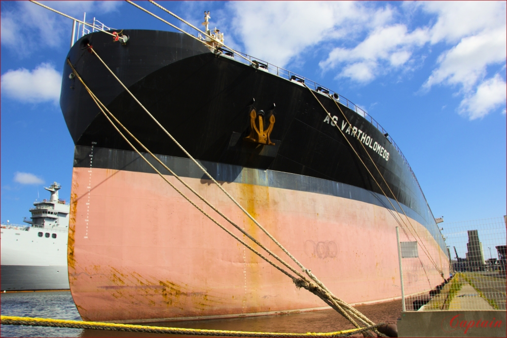 Tanker série portuaire