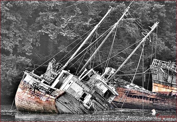 épave port bateau