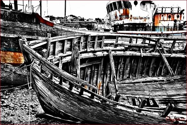 navale bois épave camaret