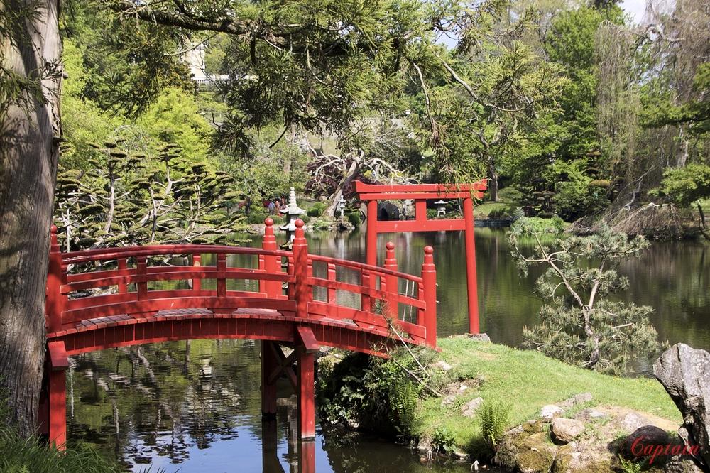 Le pont rouge