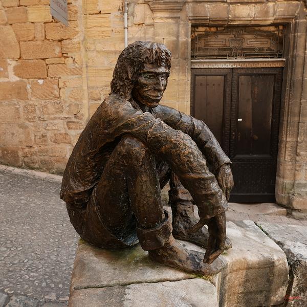 Le penseur assis