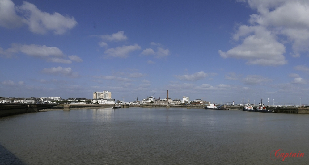 Le port de Saint Nazaire