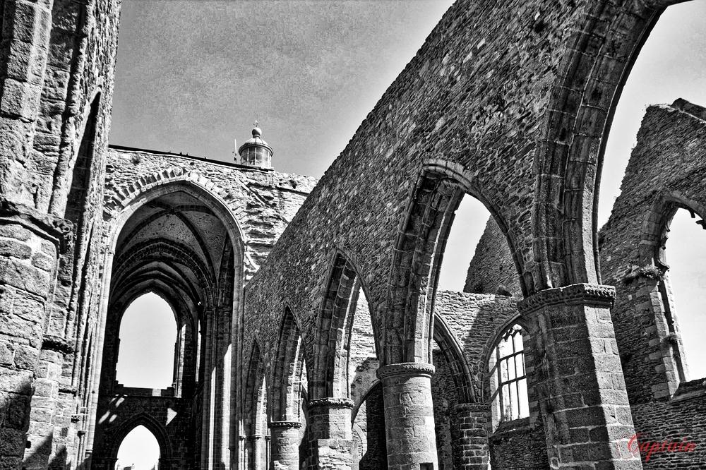 Les arches de l'abbaye