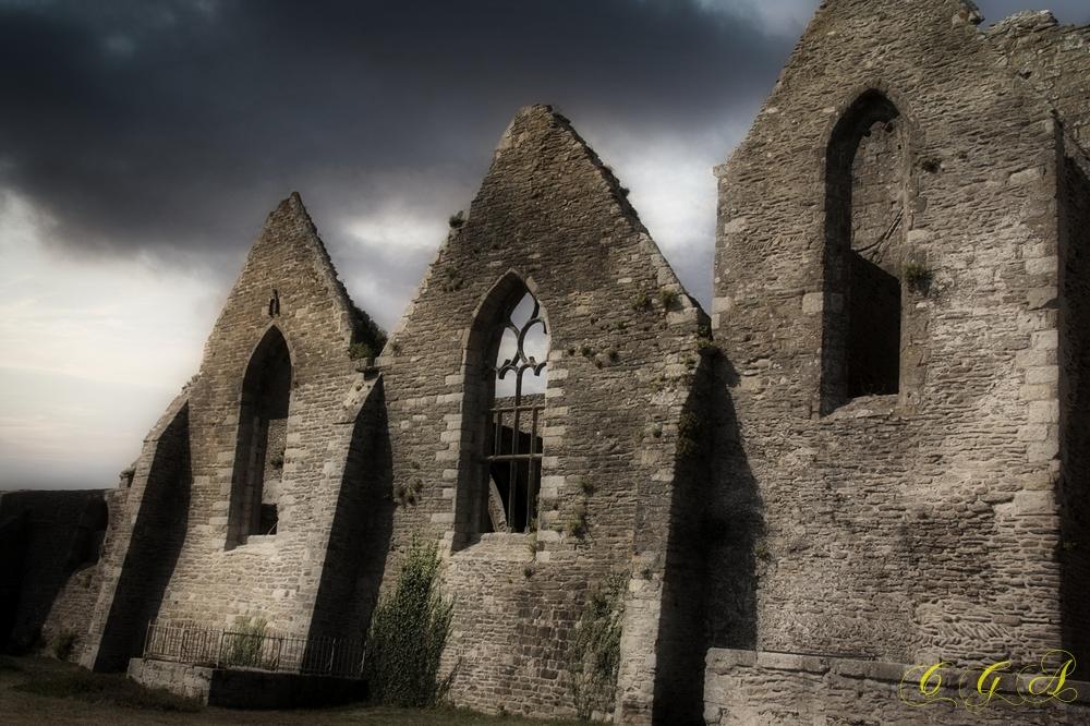 Sale temps sur l'abbaye