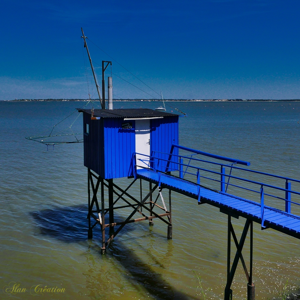 La pêcherie bleue