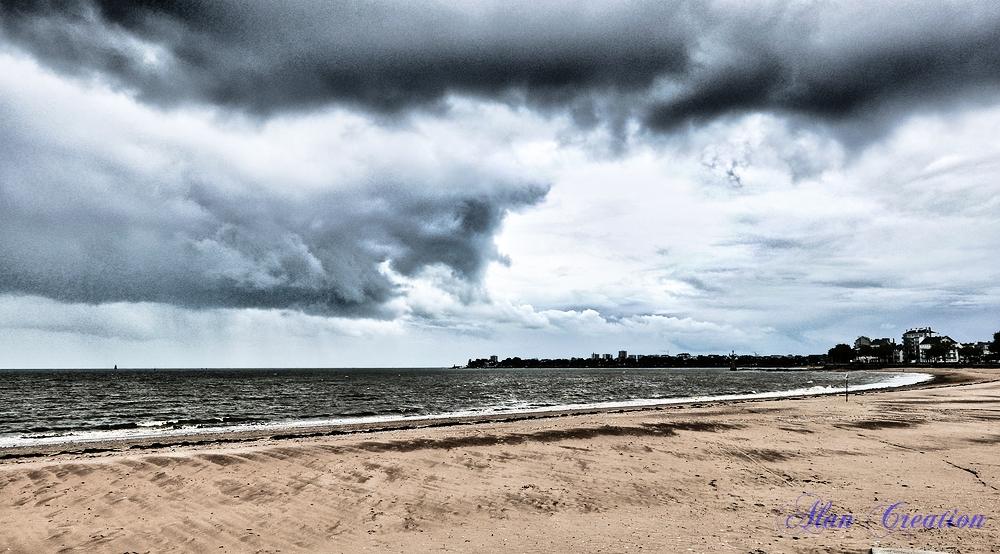 La tempête arrive