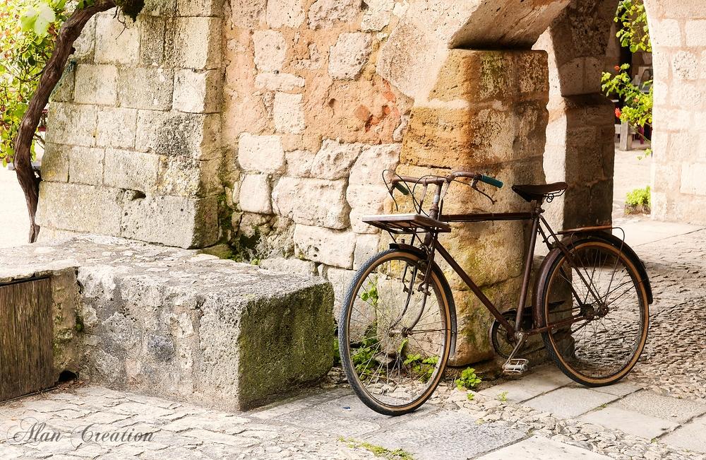 La voûte et le vélo