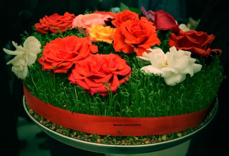 گل وسبزه