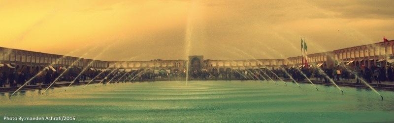 Naqsh-e Jahan Square/Isfahan city, Iran.