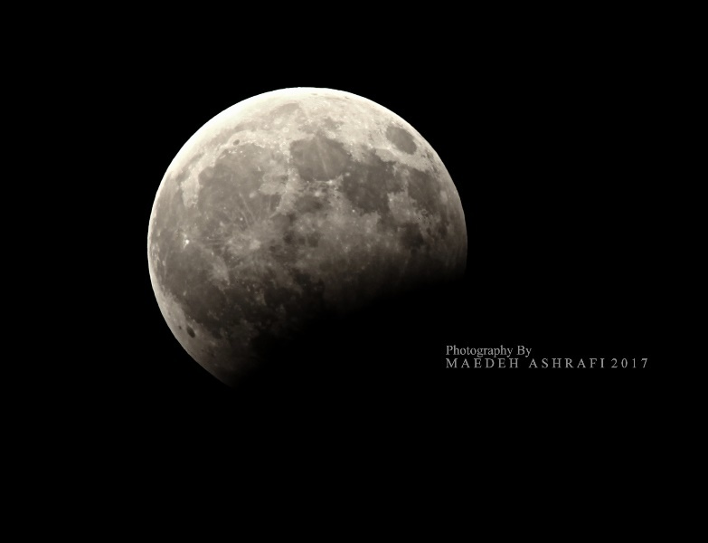 Lunar Eclipse, 7 August, Iran Hamedan#2